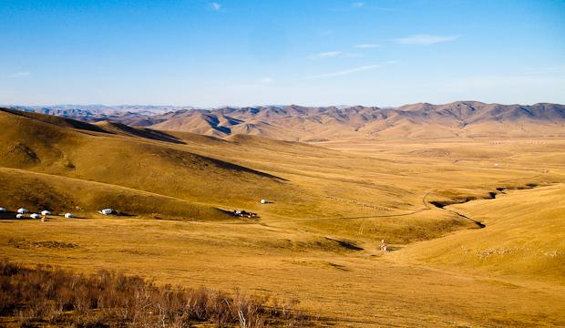The Mongolian Countryside
